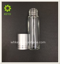 5ml 8ml best selling clear colored empty perfume cosmetic glass roll on bottle