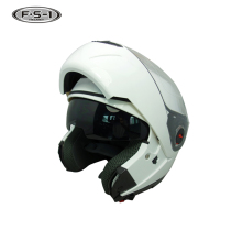 Top quality flip up helmet superman open face motorcycle helmets DOT approved