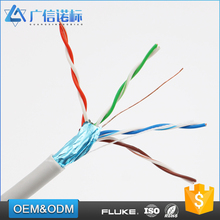 8 Number of Conductors 24AWG foiled twisted pair armoured cat5e Type ftp ethernet cable 305m
