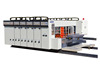 High Efficiency 4 Colors Flexo Printer Slotter Die-Cutter Stacker Machine