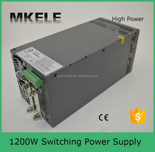 SCN-1200-24 1200w transformer 220v to 24volt led transformer high power supply 24v 50a power supplies with PFC