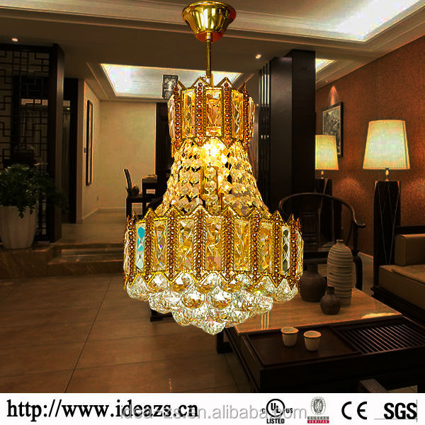 C98168 staircase chandeliers ,brass chandelier ,crystal glass led light