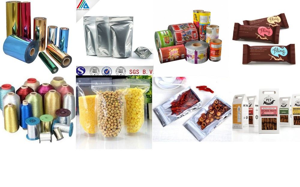 AL Silver Coated PE Film For Label Flexible Packaging