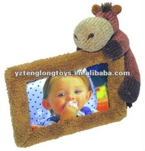 5*7 lovely and cheap plush baby photo album
