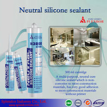 well-distributed non corrosive silicone sealant