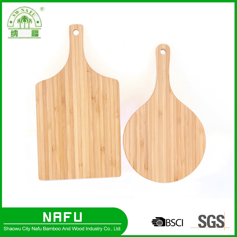 Custom new kitchen bamboo puzzle cutting board with handle