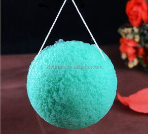 Wholesale cosmetic natural fiber sponge makeup konjac facial sponge
