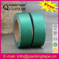 Qcustom japanese style washi paper tape diy scrapbooking with competitive price