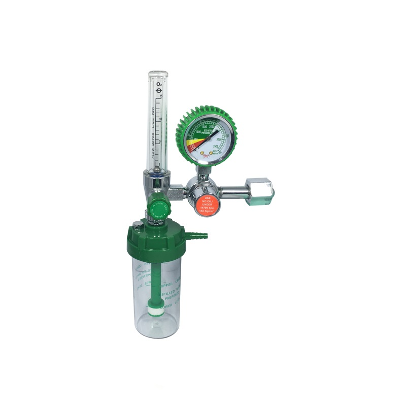 Medical Oxygen Regulator with Humidifier for ICU/CCU