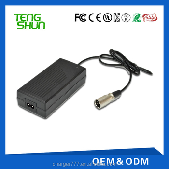 7s 24v 29.4v 2a lithium electric bike battery charger for 24v 15ah 20ah li-ion battery pack