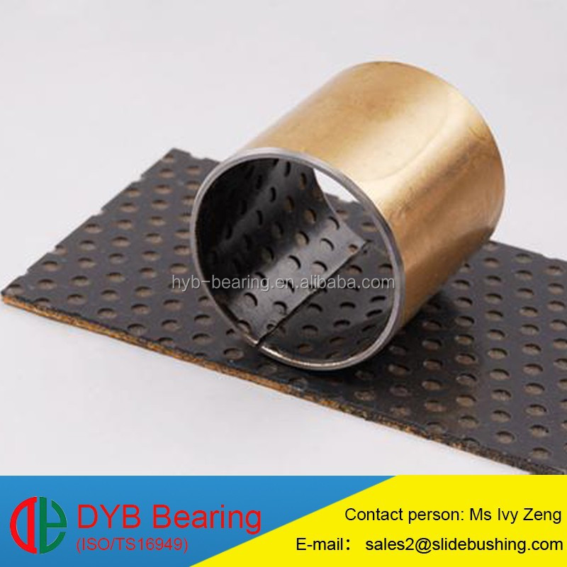 Self Lubrication Precision Bearing PAP P20 DX Textile Bearing yellow/blue/black POM Composite SF-2 Bushing