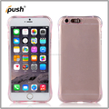 New product Transparent Luminous Calling Flash Led Light Phone Case TPU case For iPhone 6