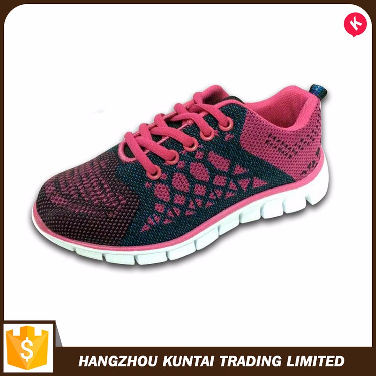 New design comfortable sneaker shoe, new model fashion women sneaker