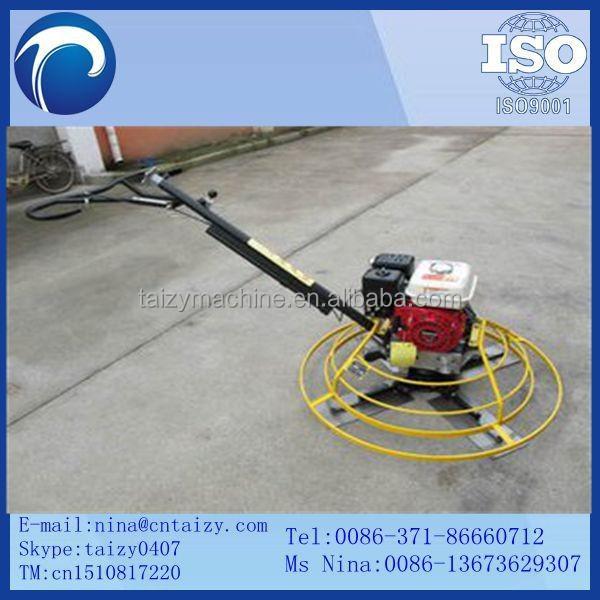 machine to concrete floor
