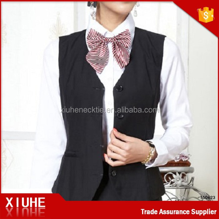 New arrival ladies office wear plus size women waistcoat