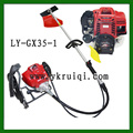 35.8CC 4 stroke Backpack gasoline brush cutter GX35 grass trimmer