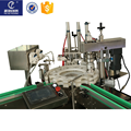 Food grade flavor full automatic eliquid production line vial bottle washing filling capping machine