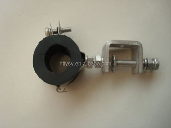 "1 1/4"" galvanized waveguide cable clamp"