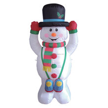 5 Foot Christmas Inflatable Snowman Yard Outdoor Decoration