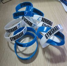 Promotional Gift Give Away Printed Logo Silicone Wristband