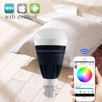 customs,Free APP,wifi led bulb 9w to achieve turn on and turn off the light by your or