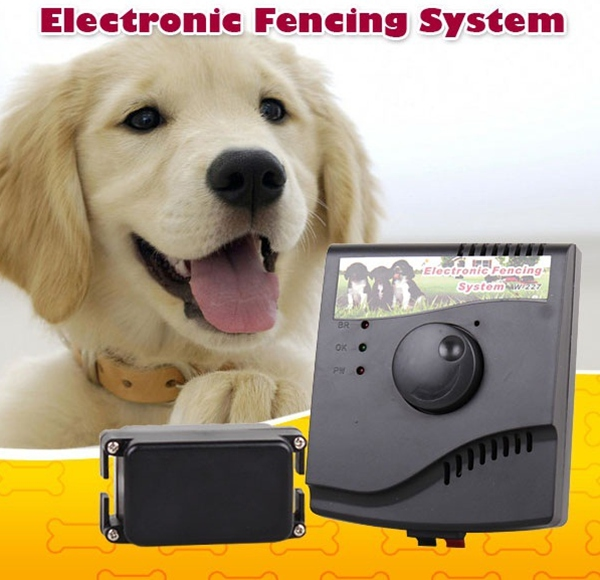 Best selling low battery consumption rechargeable w227 dog fence system 5.5 acres cheap electric dog fence