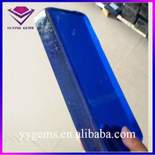 Synthetic Sapphire Blue Rough Glass Clear Glass Gemstone Raw Material Kilogram