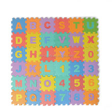 Cheap price high quality baby puzzle mat children eva puzzle ground protection mat