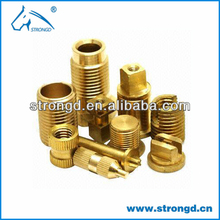 Strongd Customized CNC turning Brass Parts,brass spacer,high tensile brass