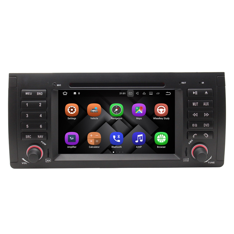 1Din Car Multimedia DVD Player for B M W E39 X5 M5 E38 E53 With GPS Navigation CANBUS Bluetooth 2GB RAM Android 7.1.1 Auto Radio