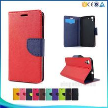 Wholesale PU Leather Credit Card Stand Flip Cover Case For Archos 50F Helium