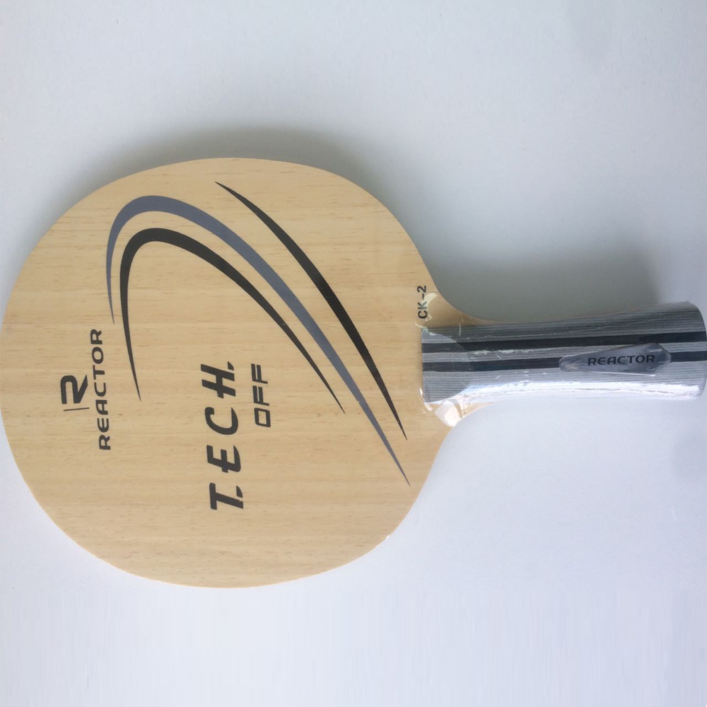 Pure wood fast attacking table tennis blade