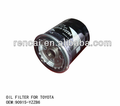 Auto parts for Toyota 90915-YZZB6 oil filter