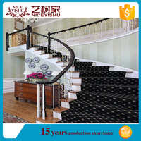 modern hot sales Indoor Usage and Stairs Type Steel Stair