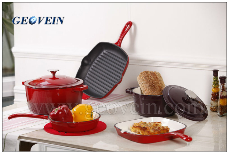 New Multifunction korean frying pan cast iron kitchen cookware india