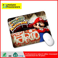 Dance Revolution Mario Mix Customized Logo Non-Slip Nature Rubber Mouse pad Gaming Mouse Mat