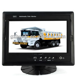 7 inch tv monitor rear mirror with camera