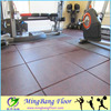 Recycled Black EPDM granulated gym rubbe flooring