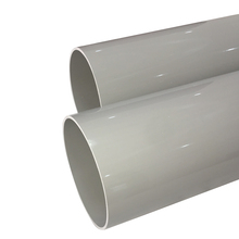 Wholesale types of plastic thin wall pvc water pipe for drainage