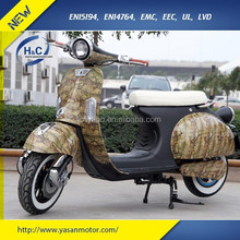 EEC vespa style adult green power electric scooter motorbike for sale made in China