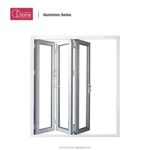 Shanghai Echome insulated aluminum alloy glass sliding accordion heavy bi folding door