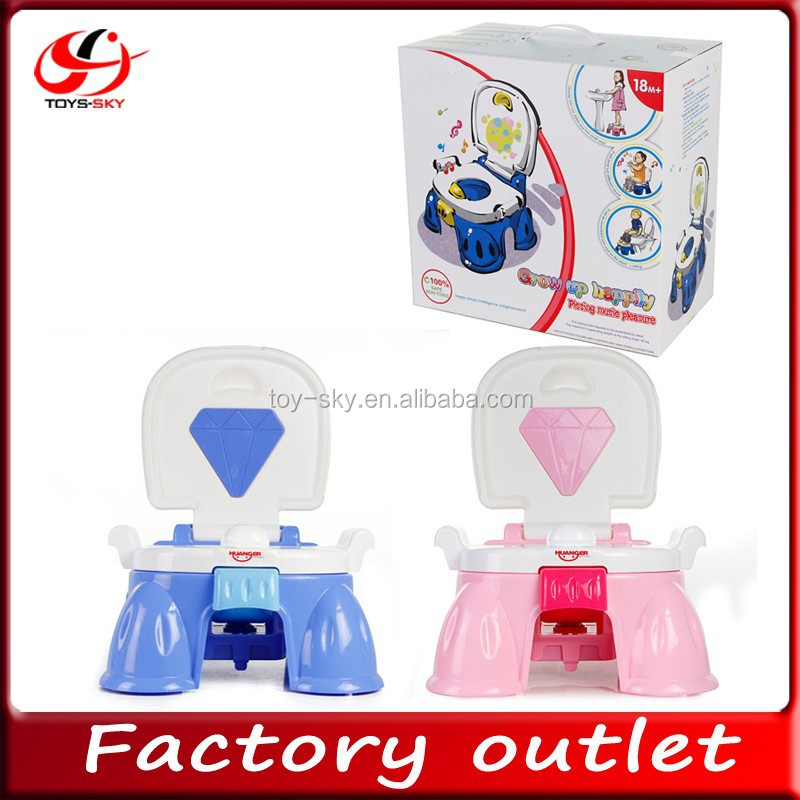 new product baby toy Grow up happy music induction Baby toilet Baby potty