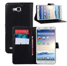 Leather Phone Case For Huawei , Phone Back Case For Huawei G750