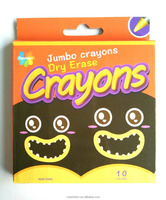 dry erase crayons non-toxic suit for students and kids