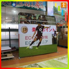 trade show exhibit, Fabric Pop Up Backwall, Portable Fabric Pop Up Display Stand