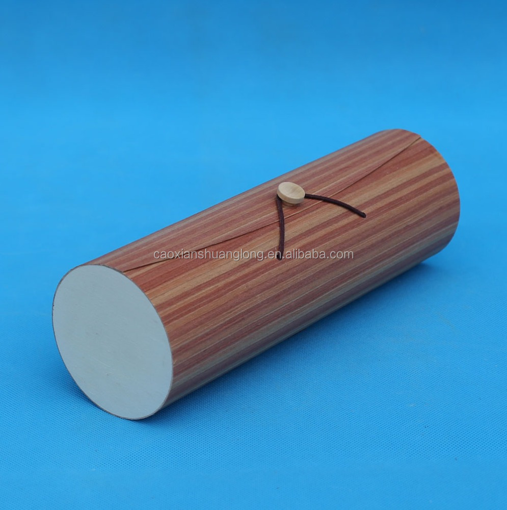 wood round chip boxes
