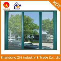 cheap price sliding plastic window with fixed window