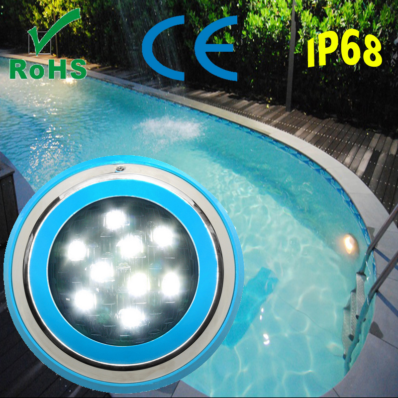 12V LED surface mounted RGB ip68 led swimming pool light