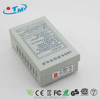 Power supply 12 volt 5 amp led driver constant voltage IP67 waterproof