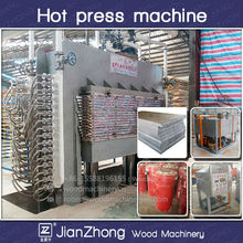 Wood machine hydraulic hot press at Competitive price